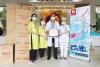 Bệnh viện Hùng Vương tiếp nhận 40.000 khẩu trang y tế do Công ty cổ phần giấy Vĩnh Tiến trao tặng