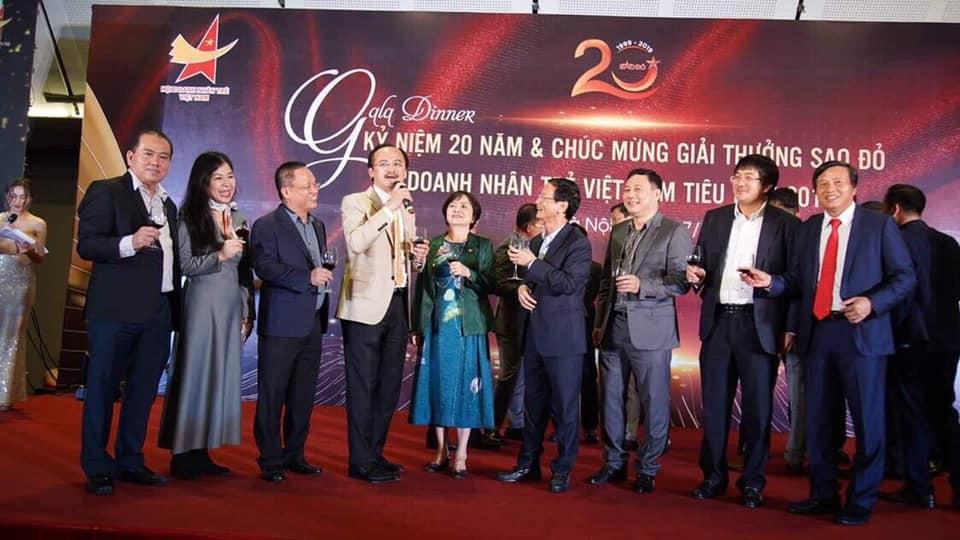 Lễ kỷ niệm 20 năm và trao giải thưởng SAO ĐỎ - DOANH NHÂN TRẺ VIỆT NAM TIÊU BIỂU 2019