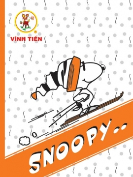 "Tập Vibook ""Snoopy"" 200 Trang"