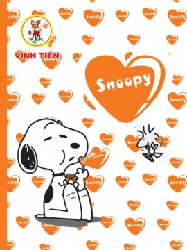 Vibook Snoopy 96 trang in oly caro