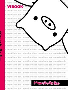 """Tập Vibook """"Monokuro Boo"""" 200 Trang"""