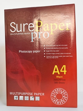 Sure Paper Pro A4 80gsm